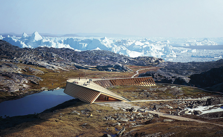 New Ice Fjord Centre in Ilulissat