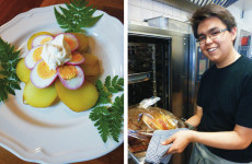 Candidate cook: Timos Greenlandic potatoes