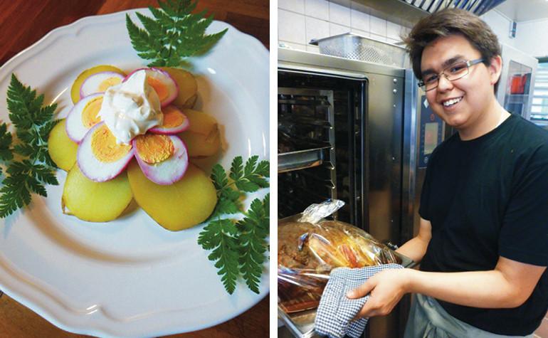Kokkeaspirant: Timos grønlandske kartofler