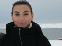 Grønlandsk makeupartist på vej til New York